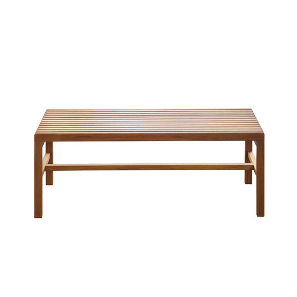 CB-39 Slat Bench BassamFellows modern american wood