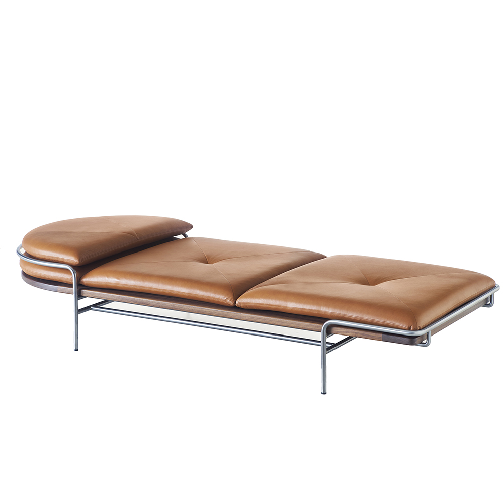 bassamfellows cb-457 geometric daybed craig bassam scott fellows contemporary mid-century upholstered american designer daybed