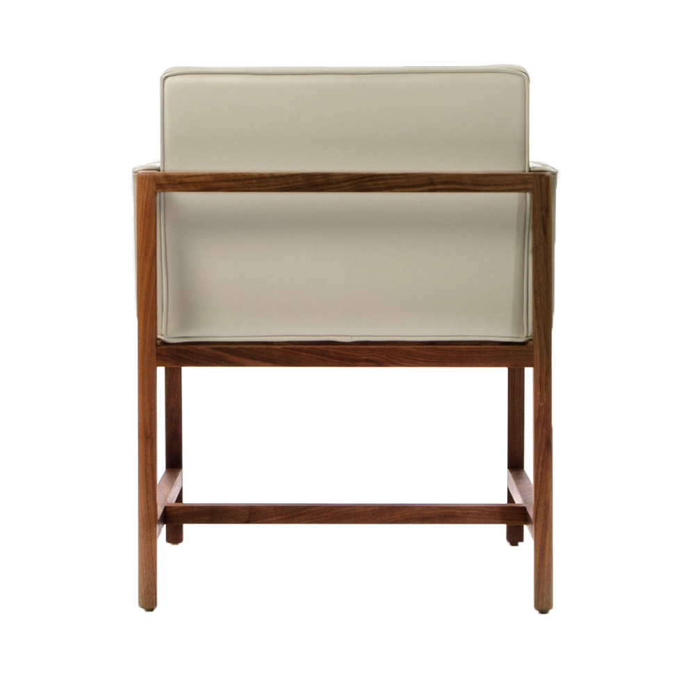 Cb 540 541 wood frame dining chair craig bassam scott fellows bassamfellows suite ny