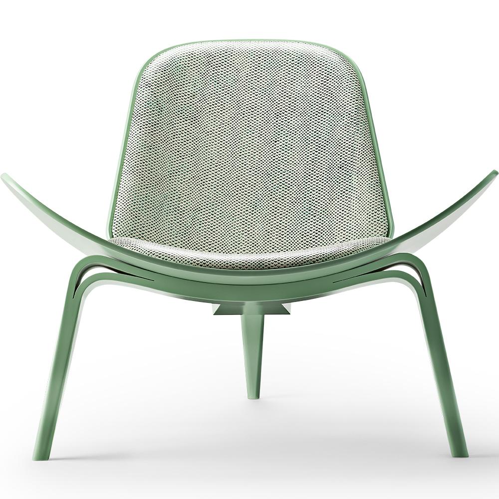 100 wegner shell chair reproduction wegner style ch28 sawhorse easy chair multiple colors - Wegner shell chair reproduction ...