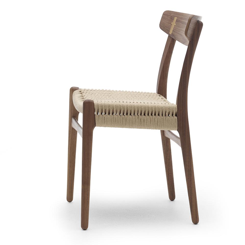 ch23 hans j wegner carl hansen sons modern wood designer danish dining chair
