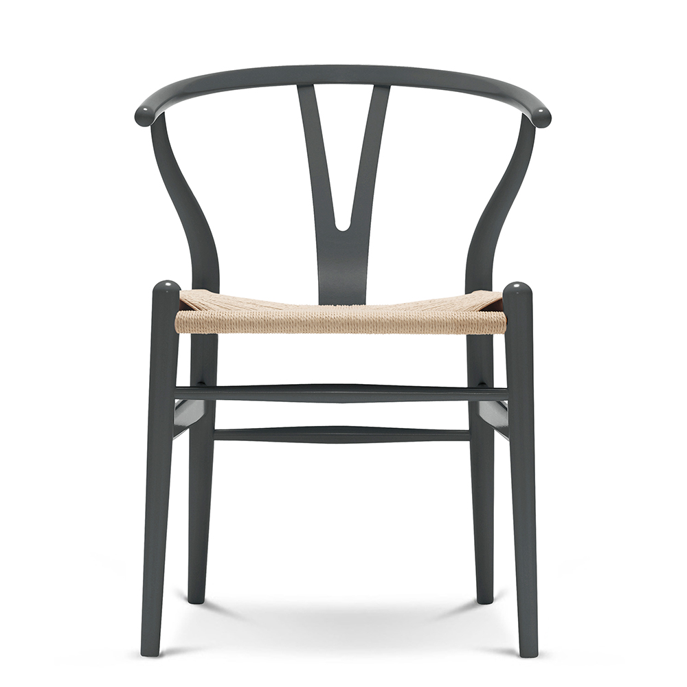 CH24 Wishbone Chair in Beech designed by Hans J. Wegner for Carl Hansen and Son black