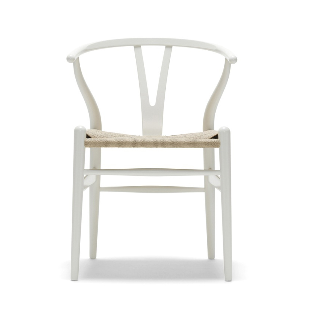 CH24 Wishbone Chair Lacquer Hans J Wegner Carl Hansen SUITE NY