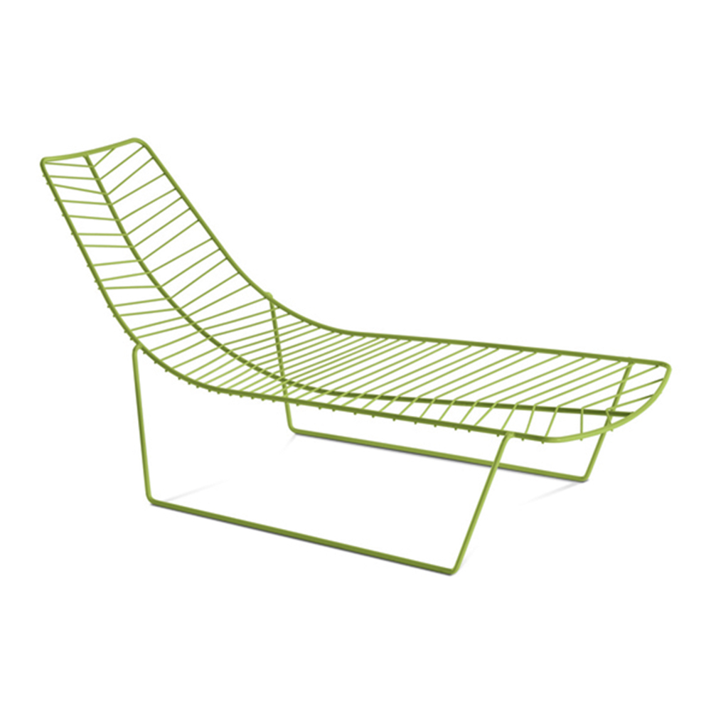 Leaf chaise lounge lievore altherr molina arper for Arper leaf chaise lounge