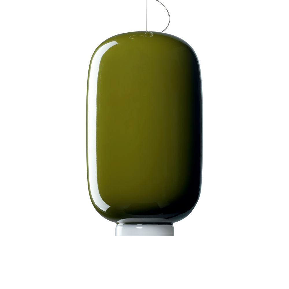 CHOUCHIN SUSPENSION LAMP IONNA VAUTRIN FOSCARINI GREEN