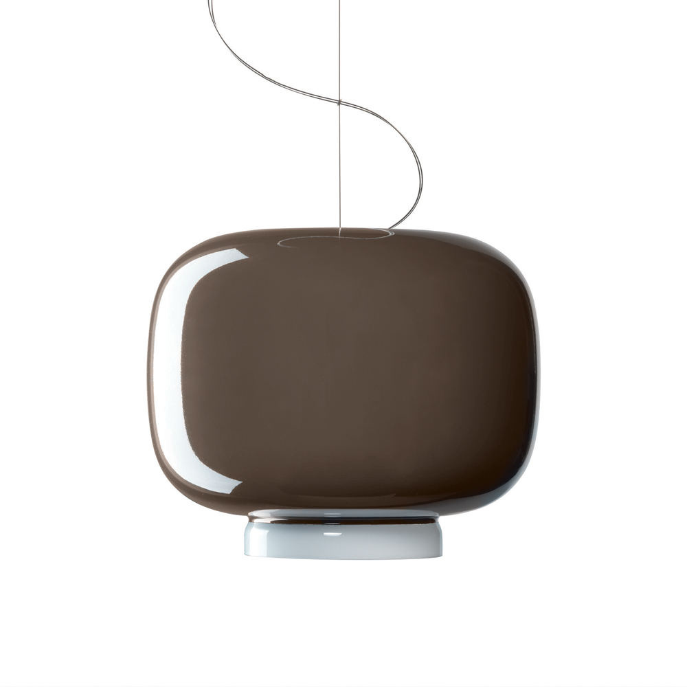 CHOUCHIN SUSPENSION LAMP IONNA VAUTRIN FOSCARINI GREY