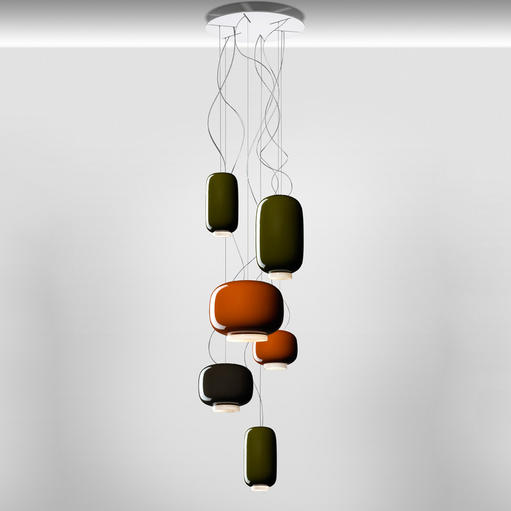 CHOUCHIN SUSPENSION LAMP IONNA VAUTRIN FOSCARINI GROUP CHANDELIER