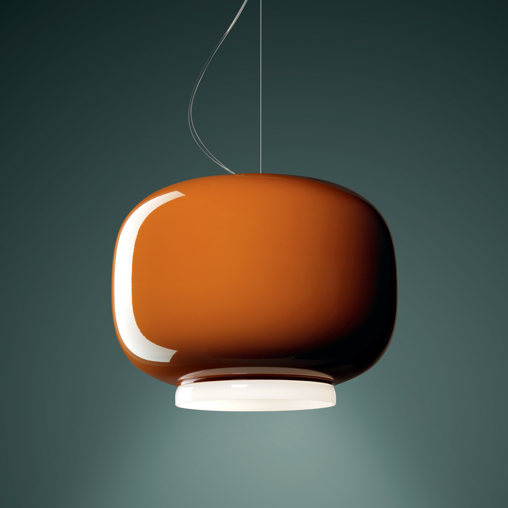 CHOUCHIN SUSPENSION LAMP IONNA VAUTRIN FOSCARINI ORANGE 1