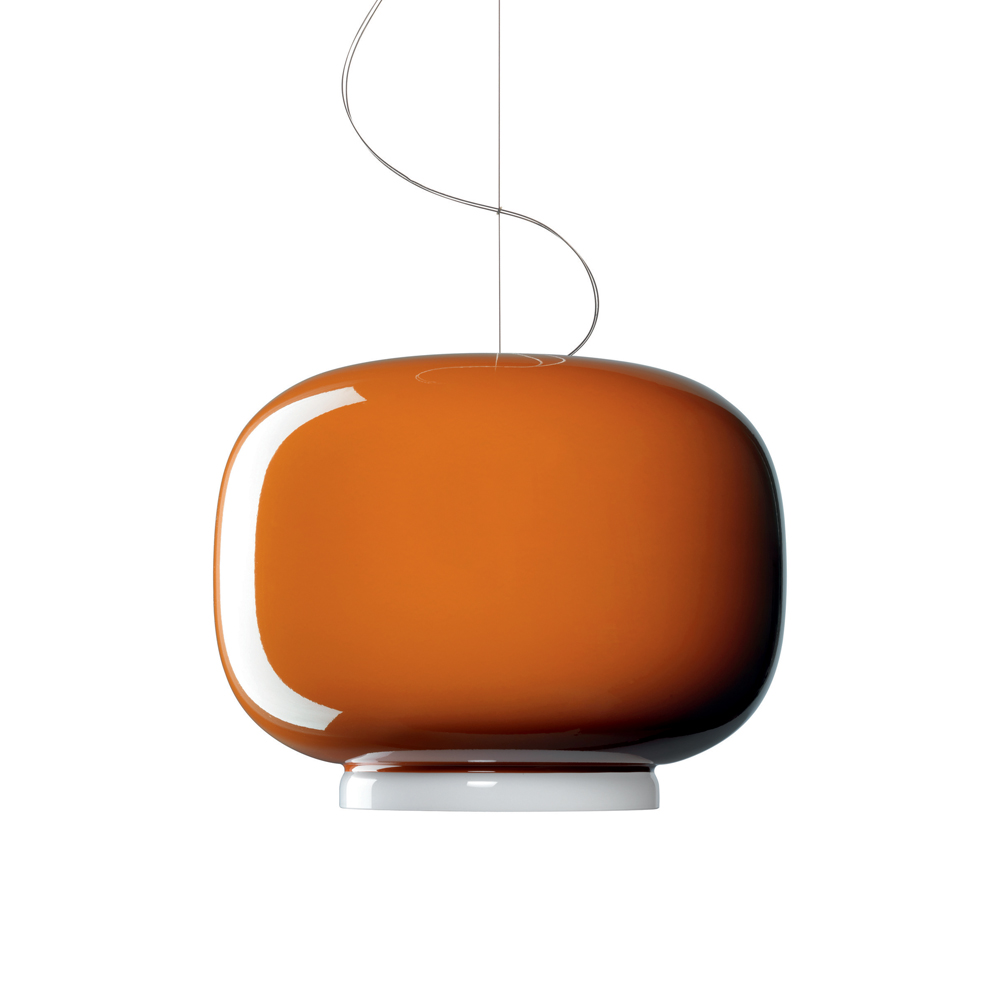 CHOUCHIN SUSPENSION LAMP IONNA VAUTRIN FOSCARINI ORANGE PAIR