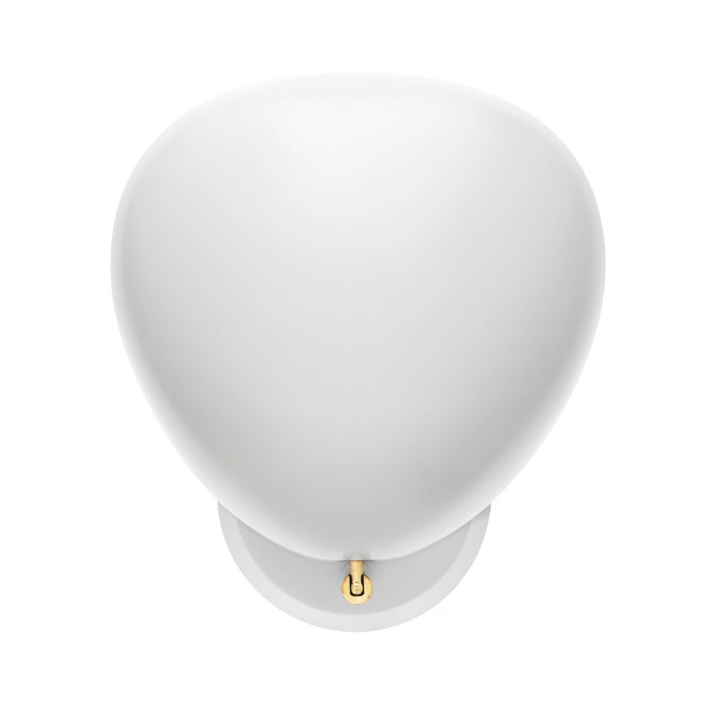 WHITE cobra wall light sconce geta grossman gubi wireless