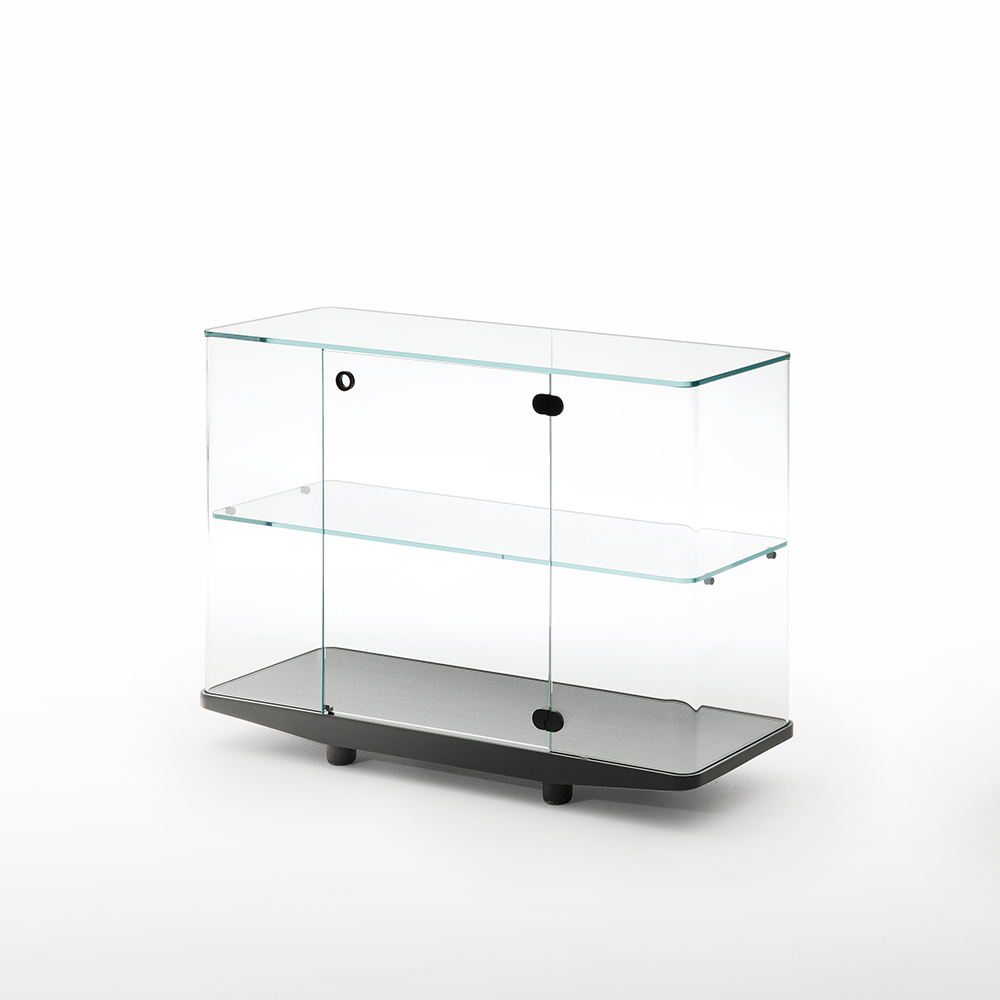 Collector Edward Barbered Jay Osgerby Glas Italia modern designer italian glass storage unit