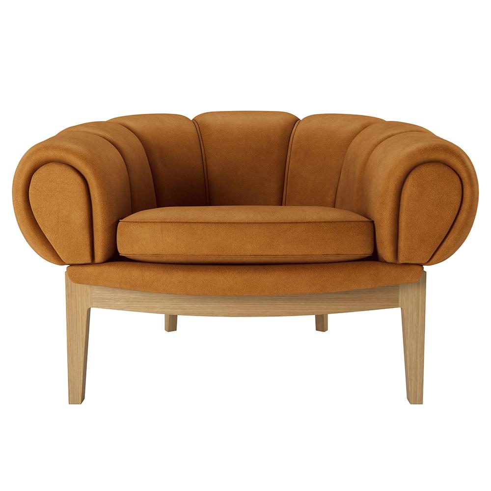 croissant lounge chair gubi