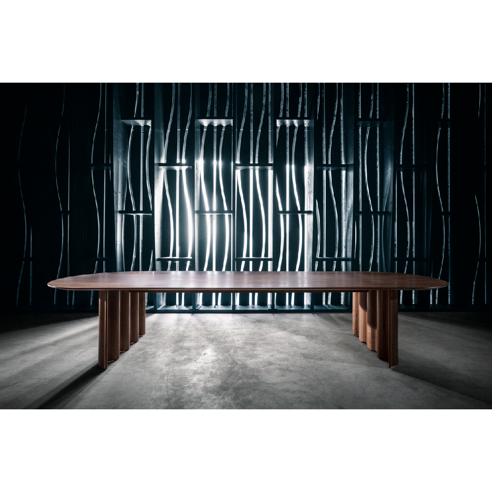 Zeitraum curtain table