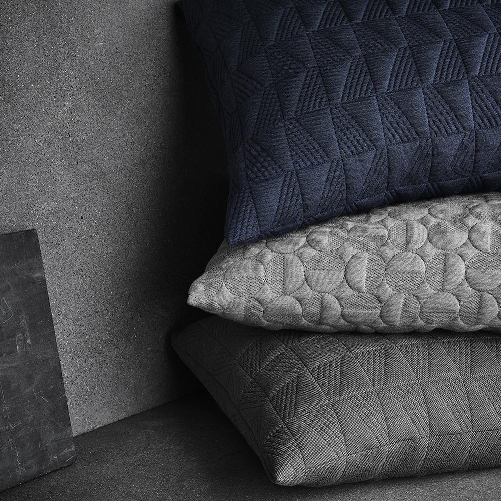 cushion arne jacobsen fritz hansen mid century modern designer grey gray neutral pillow cushion
