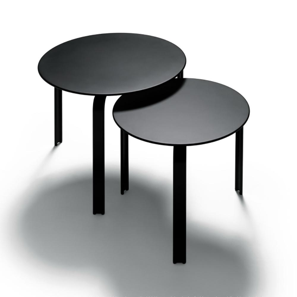 dan table depadova black modern occasional table
