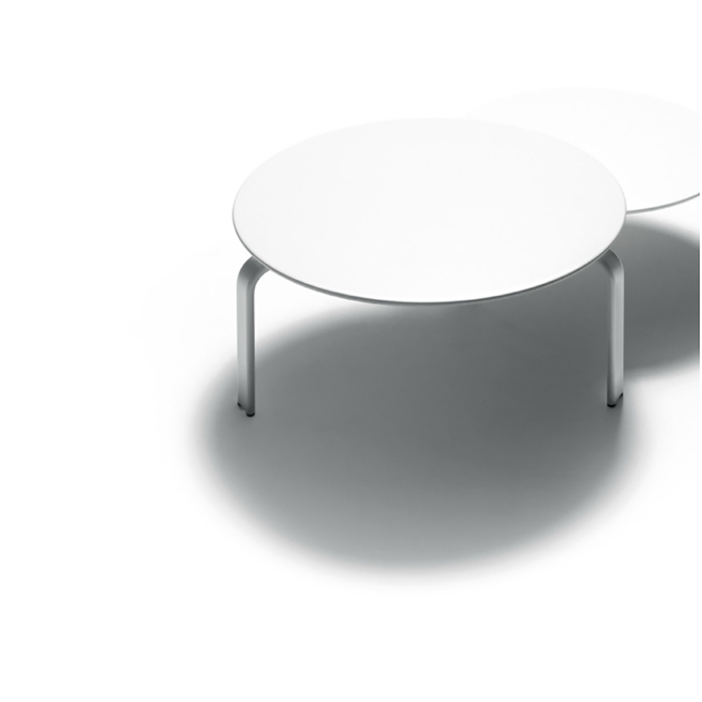dan table depadova white modern occasional table