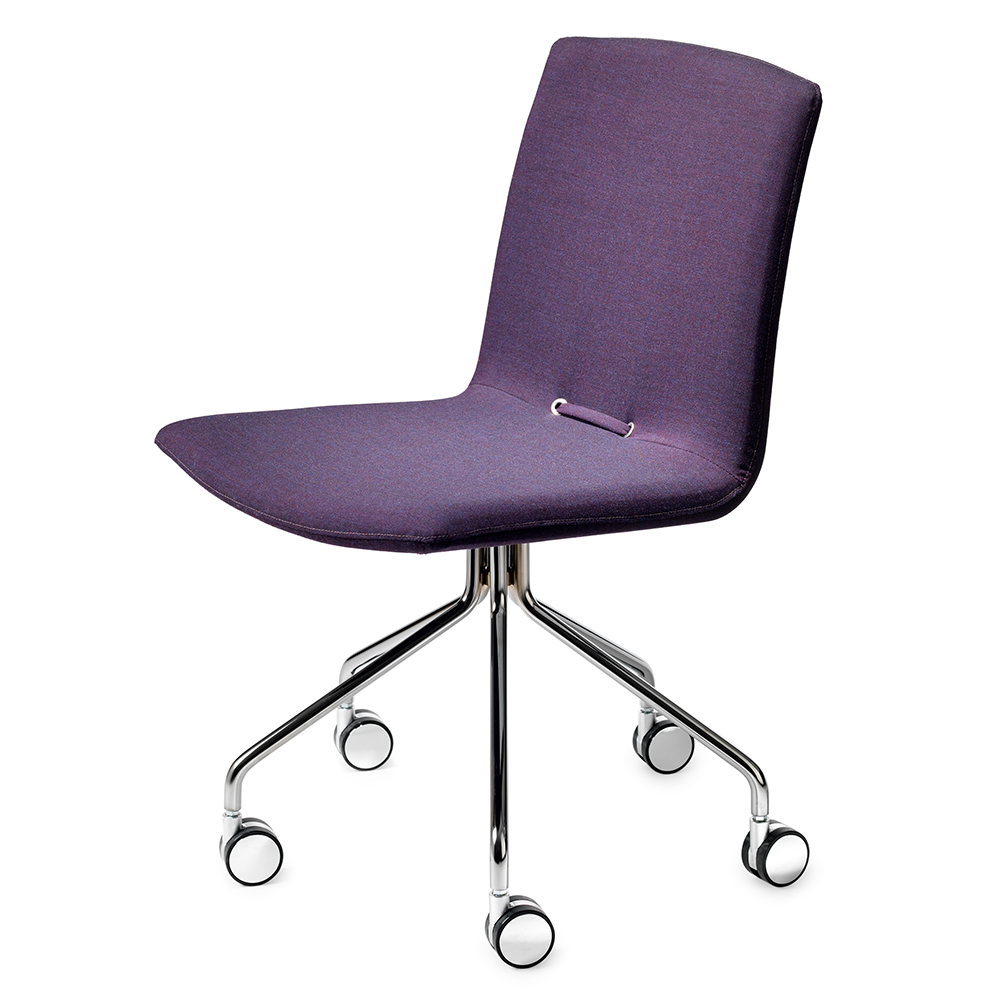 day task chair purple pierre sindre garsnas modern upholstered stackable office chair swivel
