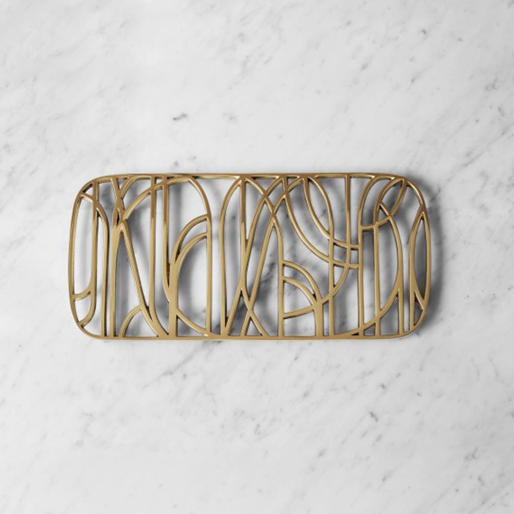 dew trivet brass skultuna objecthood suite ny