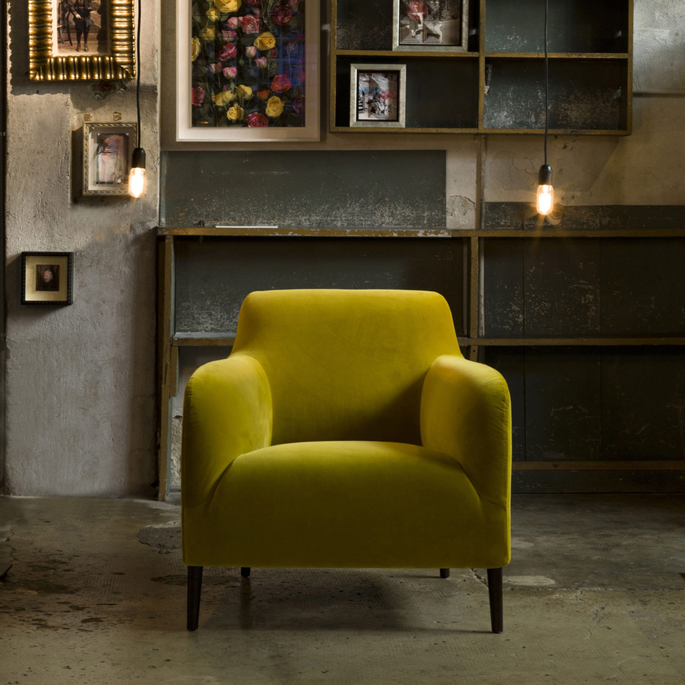 Divanitas Armchair by Lievore Altherr Molina for Verzelloni Luxury Italian Lounge Furniture at SUITE NY