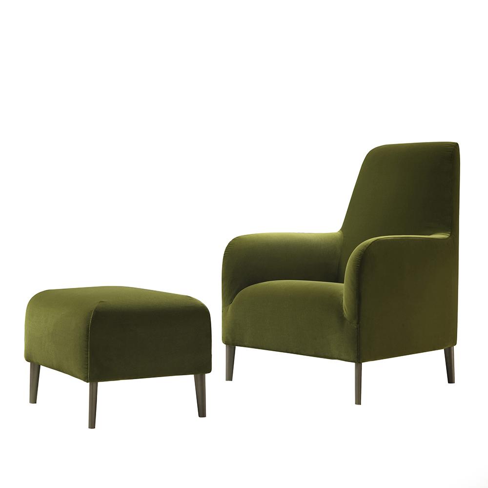 divanitas high verzelloni modern upholstered italian armchair