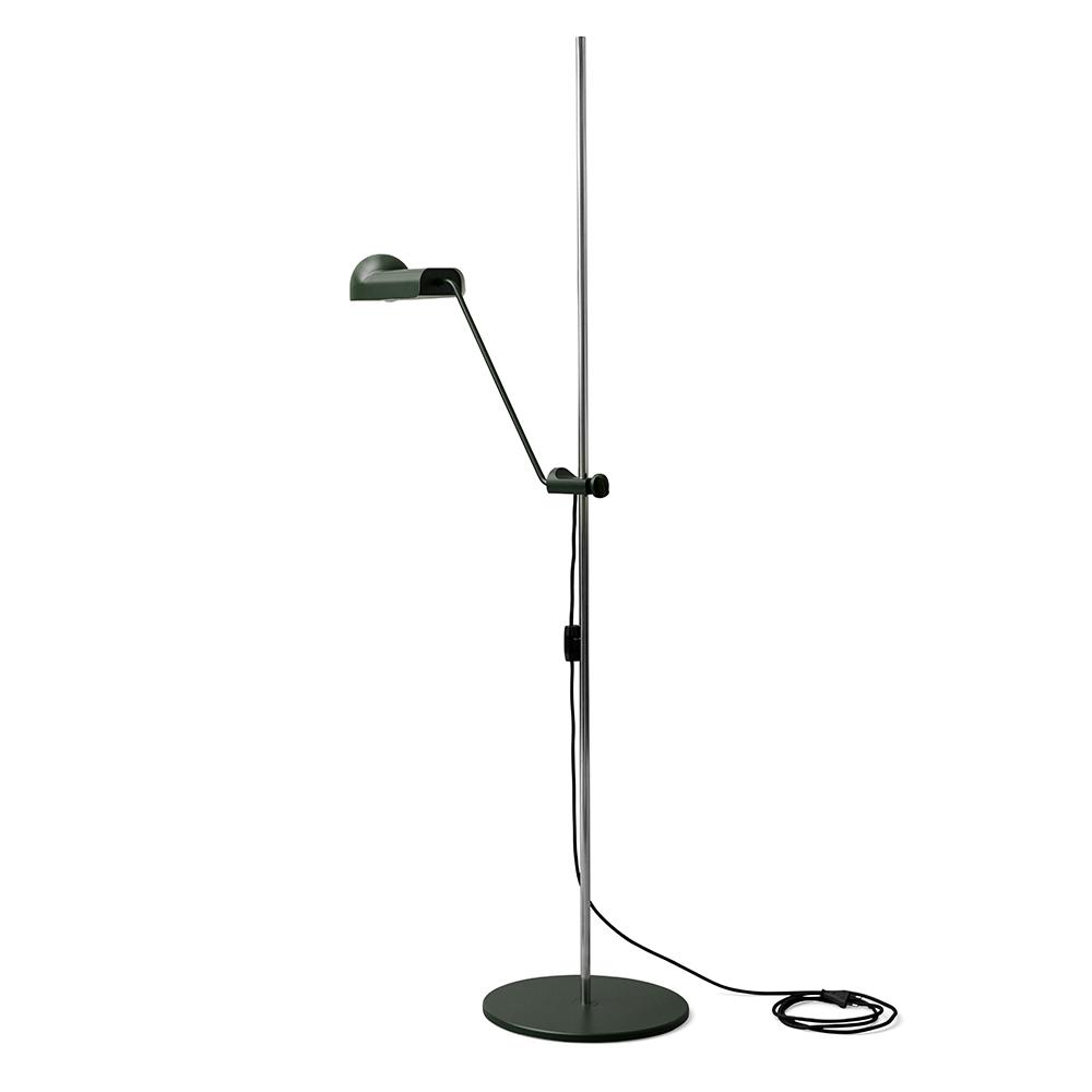 domo floor lamp joe colombo karakter modern designer danish black floor light