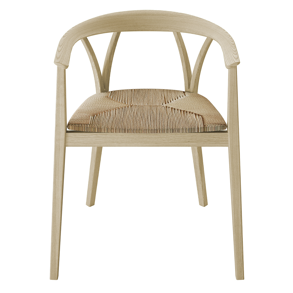 donzelletta chair piero lissoni depadova white modern upholstered wooden chair