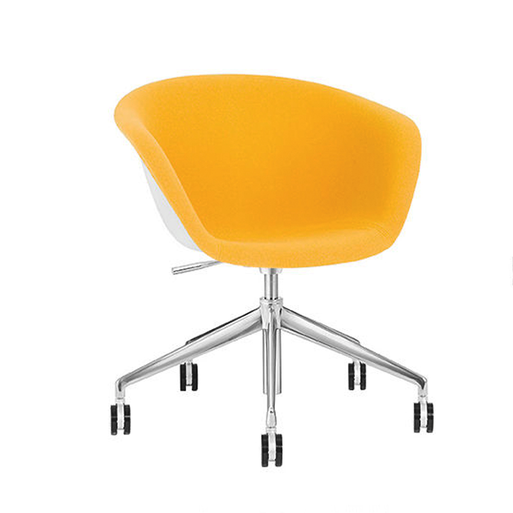 duna 02 dining chair lievore altherr molina arper italian design furniture 5 leg castors aluminum base upholstery italy contemporary shop suite ny