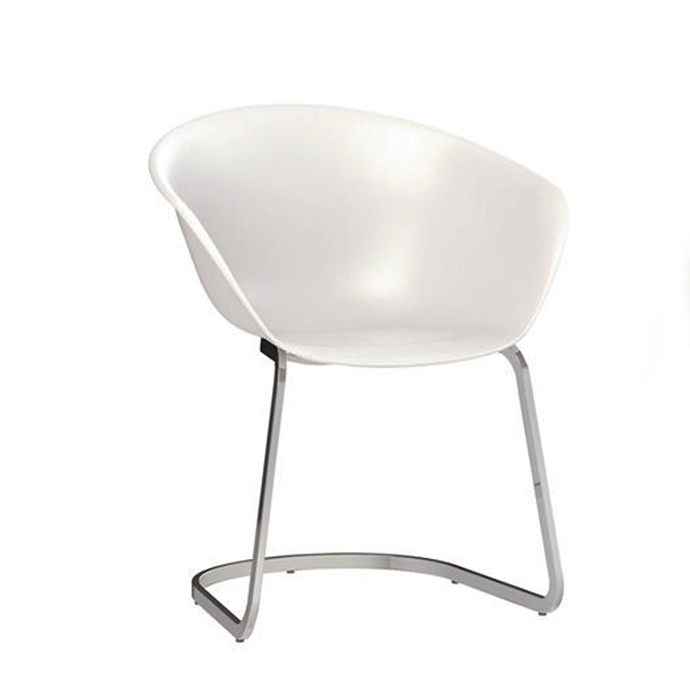 duna 02 dining chair lievore altherr molina arper italian design furniture cantilever chromed steel base upholstery italy contemporary shop suite ny
