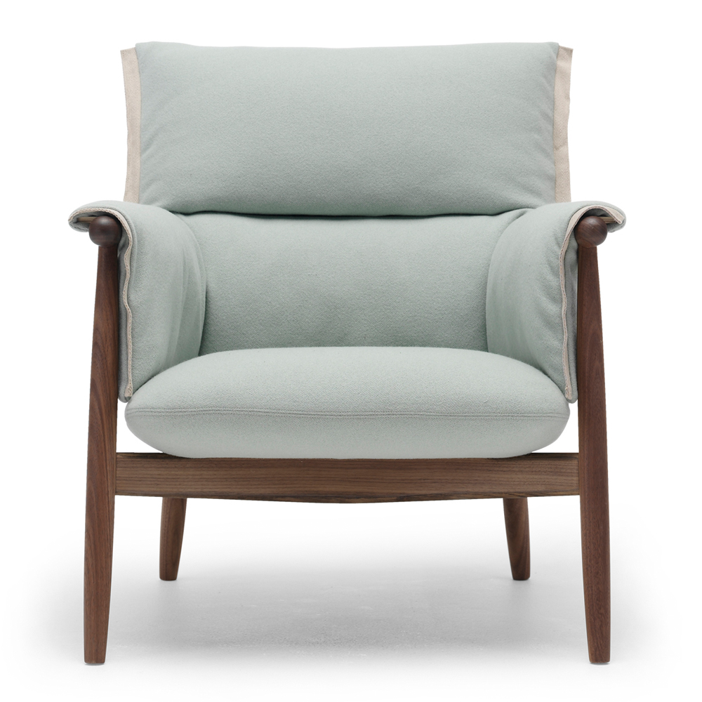 eoos e015 embrace lounge chair suite ny carl hansen and son walnut leg