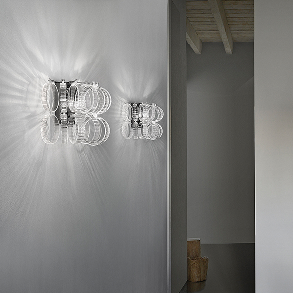 Ecos Wall light designed by Renato Toso, Noti Massari & Associates for Vistosi