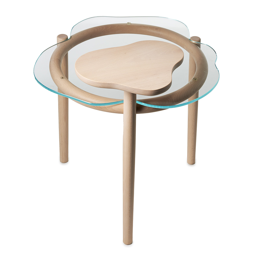embla table elsa ekdal anne skoug garsnas modern contemporary wood glass occasional coffee side two-tier two-tiered table