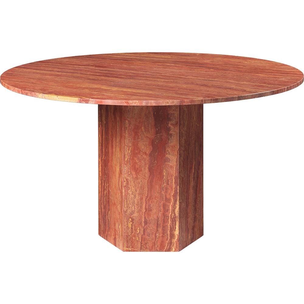 epic dining table gamfratesi gubi modern contemporary european designer solid stone travertine marble dining table