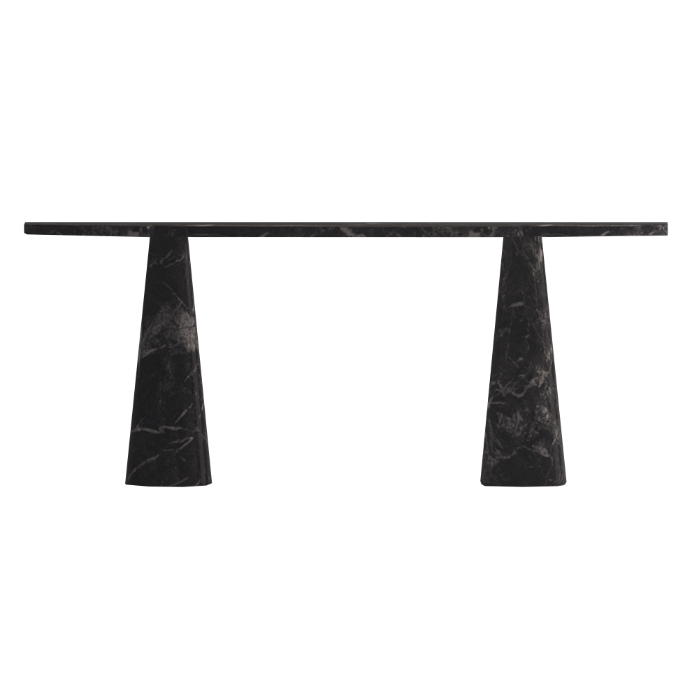 eros console angelo mangiarotti agapecase italian designer marble console table