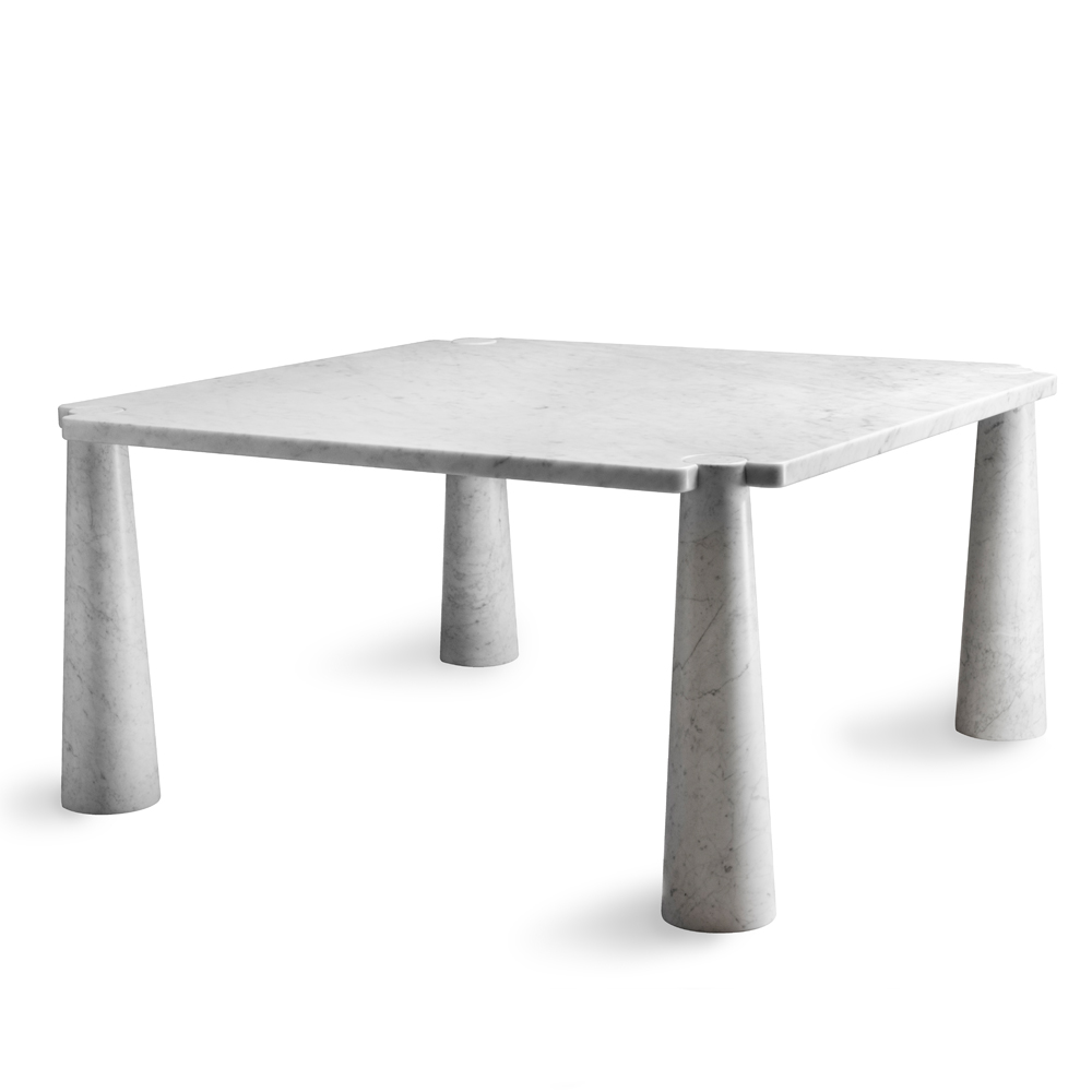 eros carrera marble dining table angelo mangiarotti suite ny agapecasa