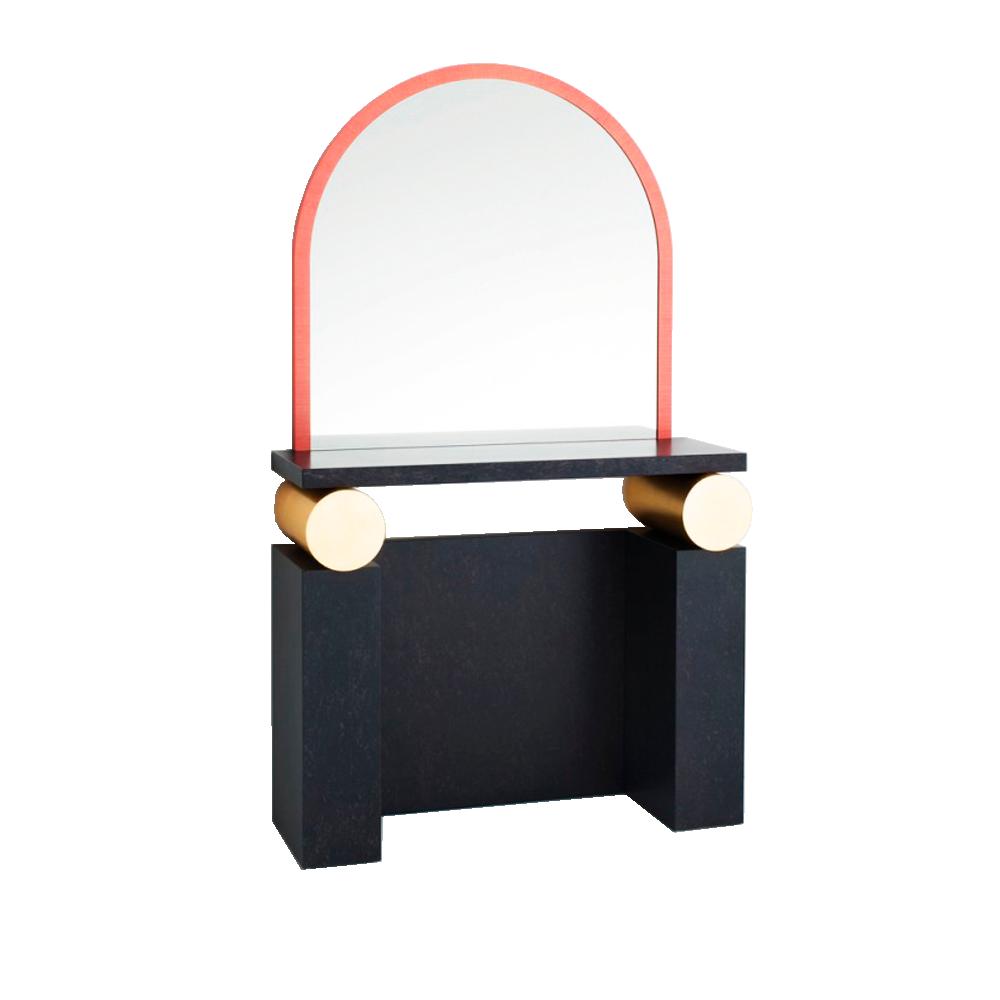 Ettore Sottsass Etrusco vanity mirror Glas Italia SUITE NY