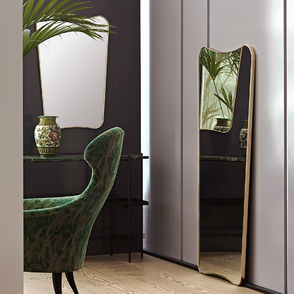 Rectangular Wall Mirror fa 33 rectangular wall mirror | gio ponti | gubi | suite ny