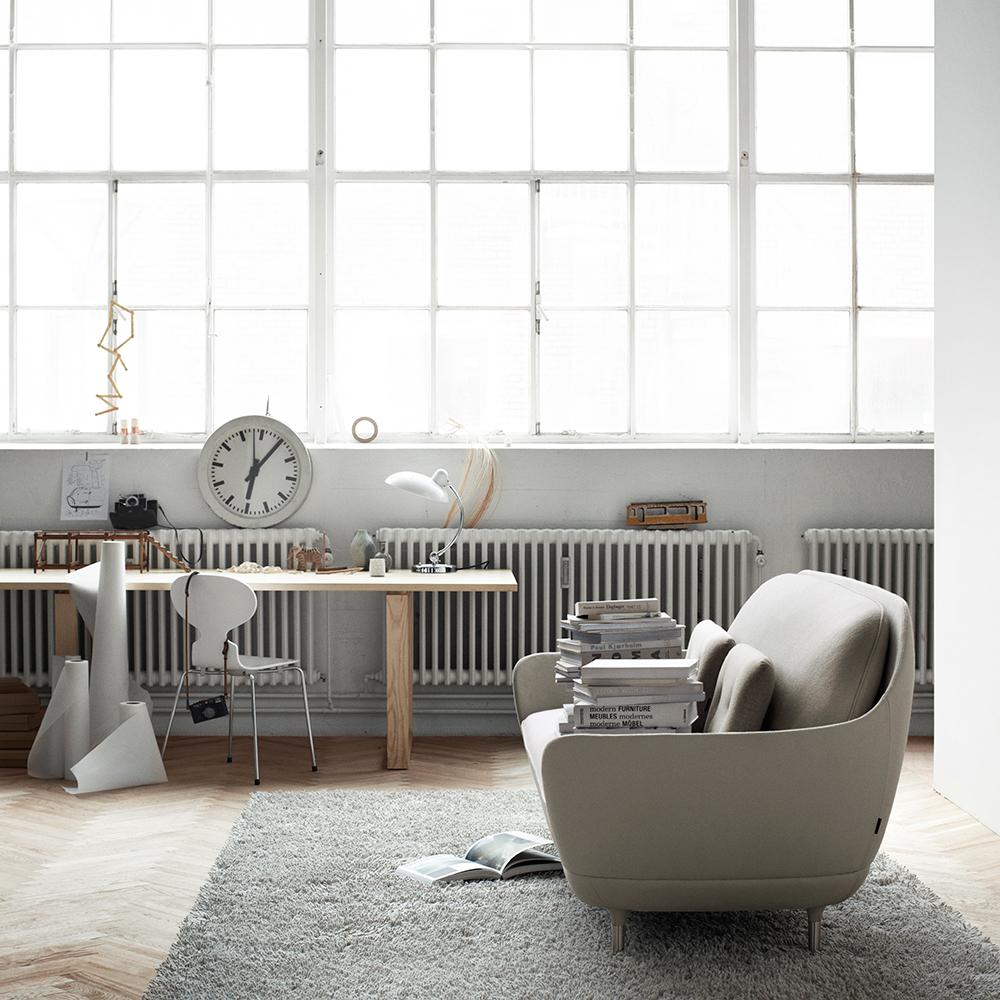 Favn sofa grey Jaime Hayon Fritz Hansen grey
