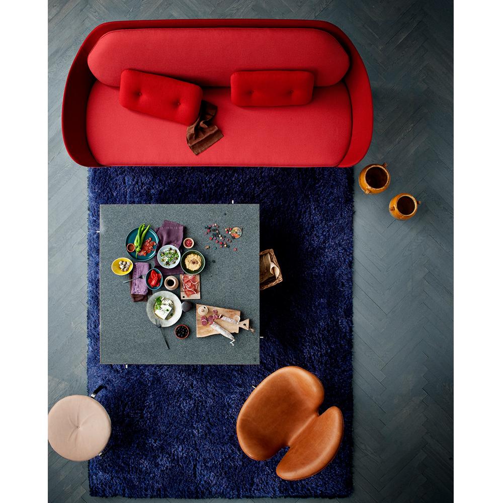 Favn sofa red Jaime Hayon Fritz Hansen grey