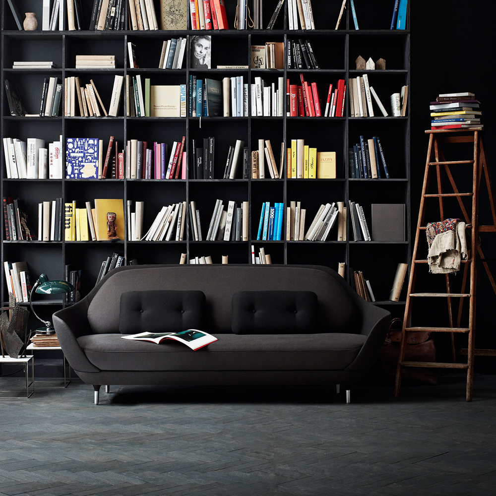 Favn black sofa Jaime Hayon Fritz Hansen grey