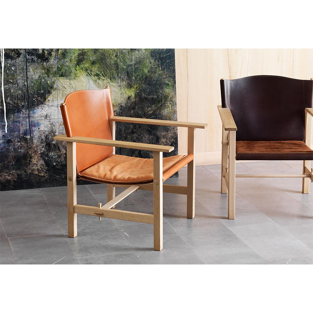 Ferdinand Ake Axelsson Garsnas swedish designer leather armchair