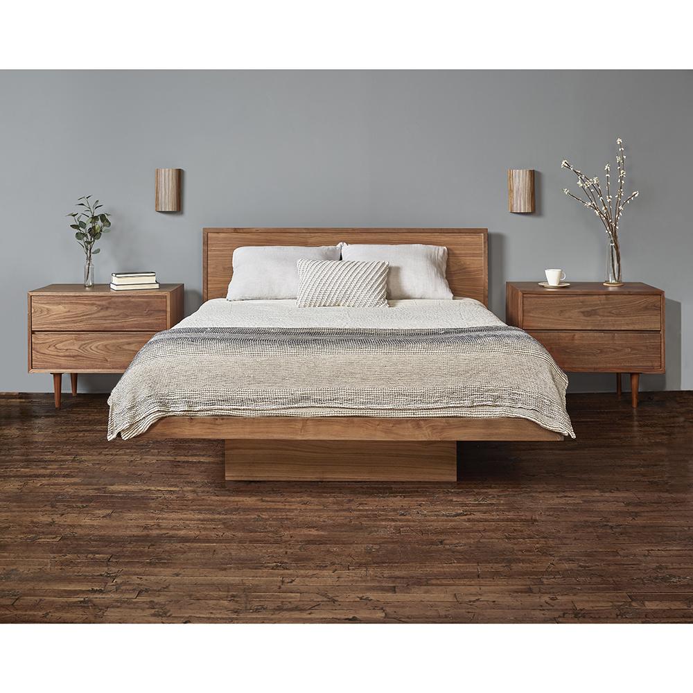 smilow floating platform bed