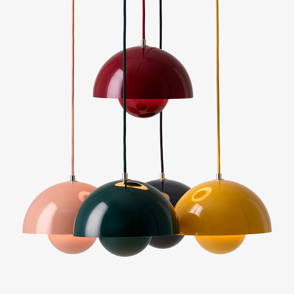 Flowerpot Pendant Verner Panton AndTradition SUITE NY