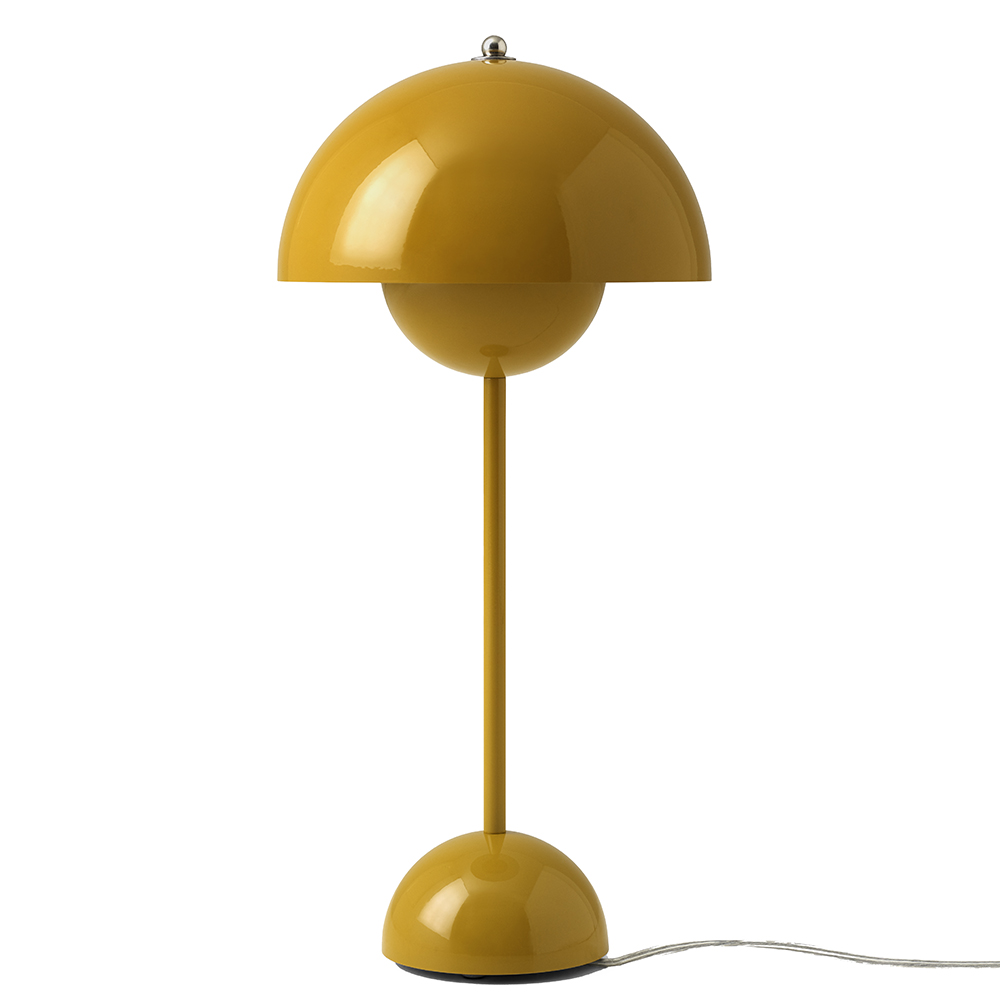 flowerpot verner panton andtradition modern contemporary danish designer table colorful lamp lighting