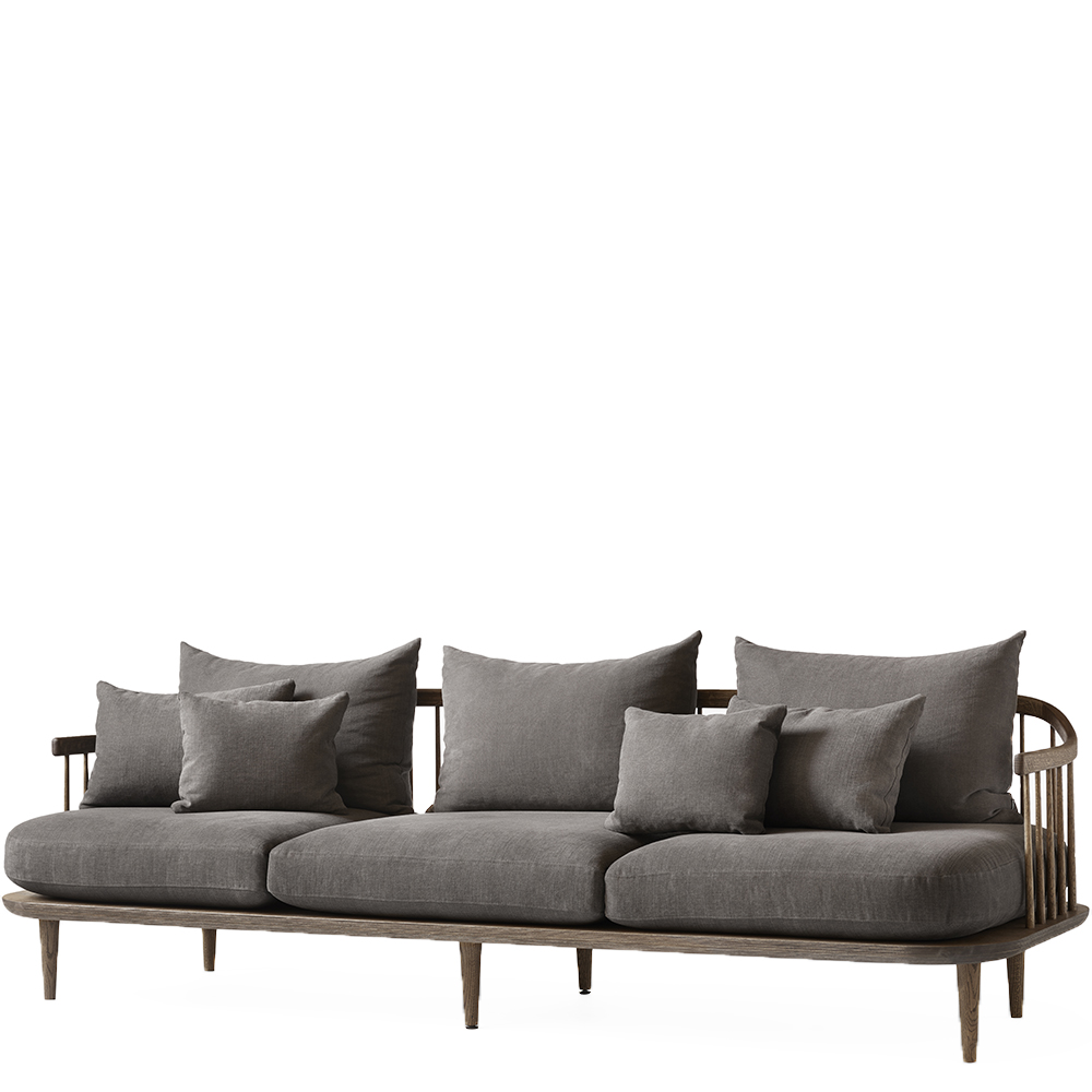 fly sc12 andtradition modern designer three seater sofa