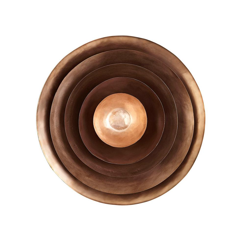 Copper Form Bowls Tom Dixon Suite Ny