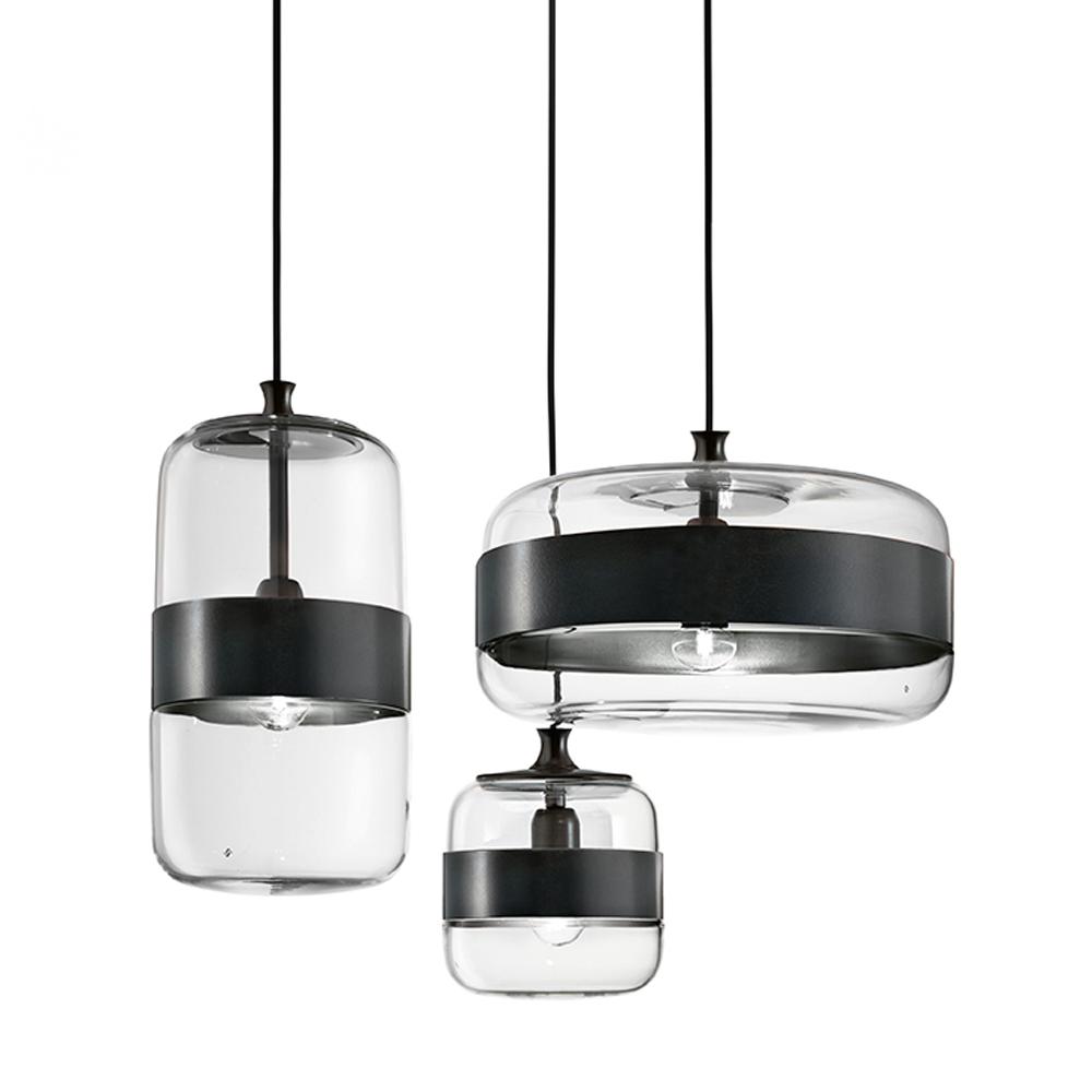 Futura Pendant Hangar Design Group Vistosi murano glass lighting