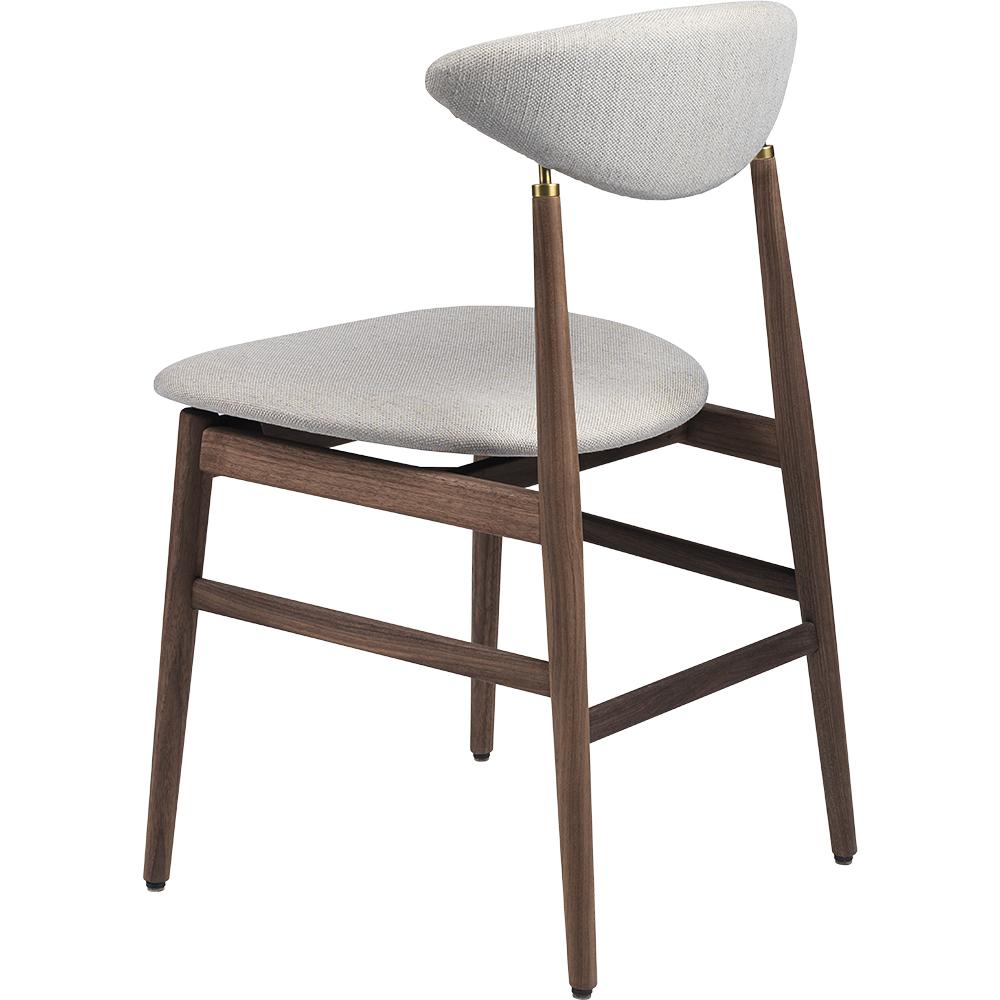 gent gubi gamfratesi danish modern mid century style contemporary designer upholstered dining chair