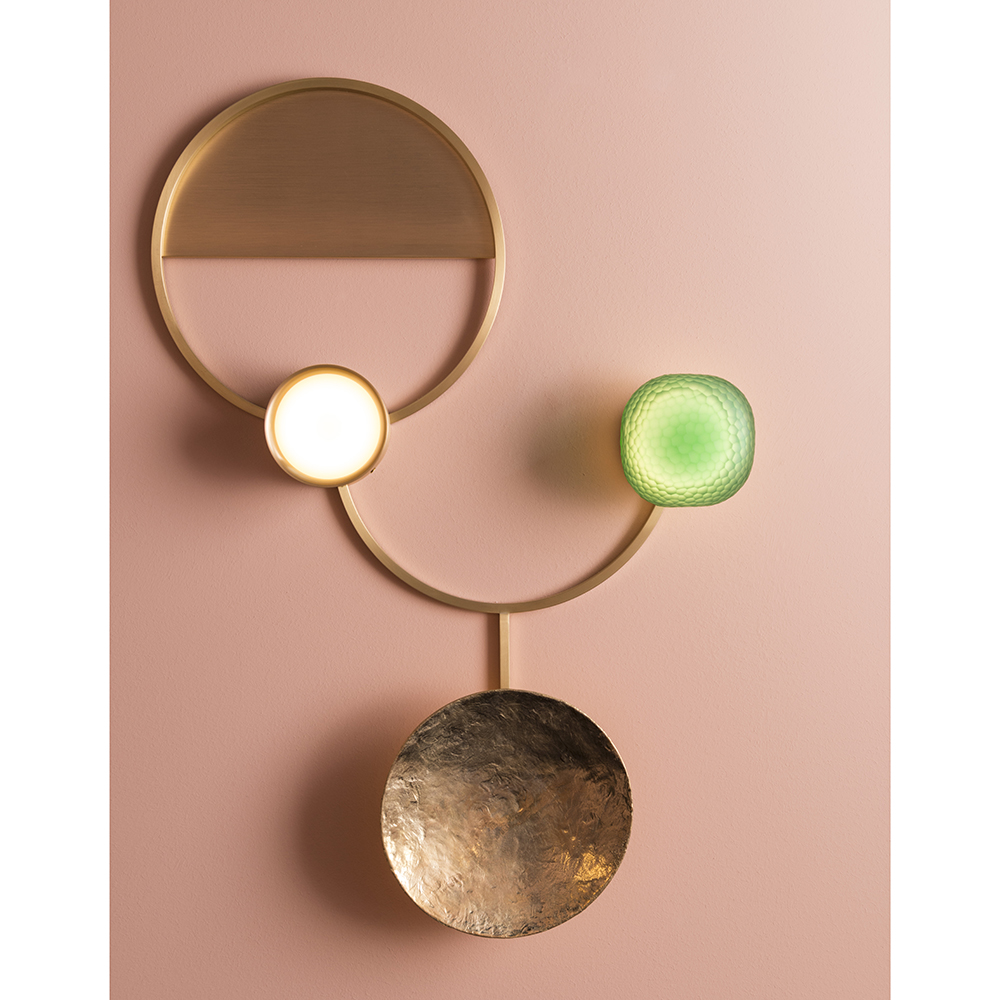 gioielli giopato coombes modern gold geometric wall sconce