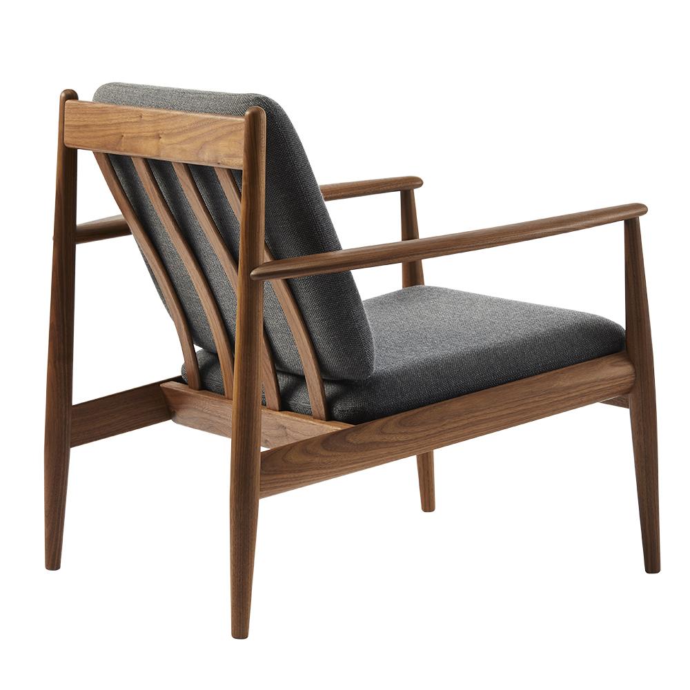 gj 118 easy chair grete jalk lange production midcentury modern danish designer lounge chair