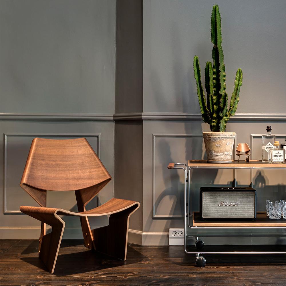 GJ Chair designed by Grete Jalk for Lange Production